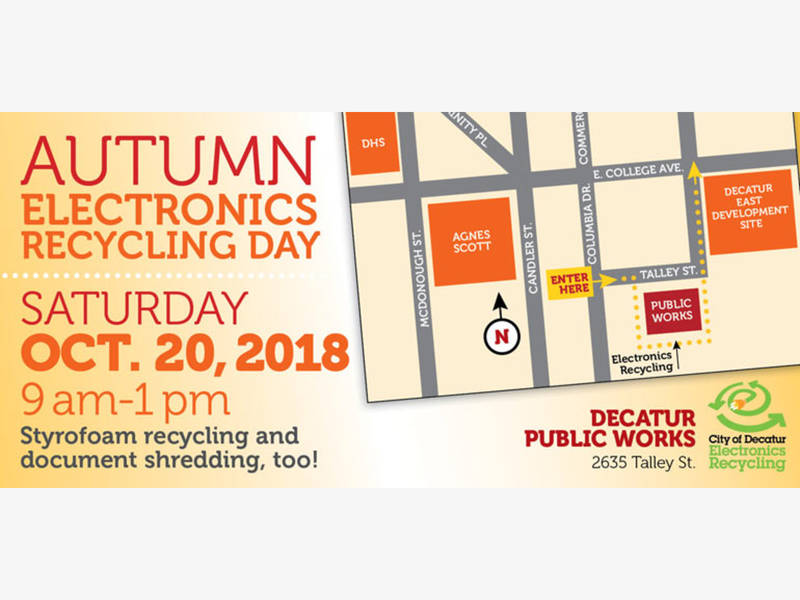 Autumn Electronics Recycling Day Is This Saturday In Decatur
