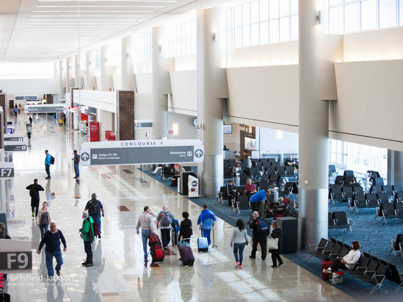 Record Number Of Holiday Travelers Expected At Atlanta Airport