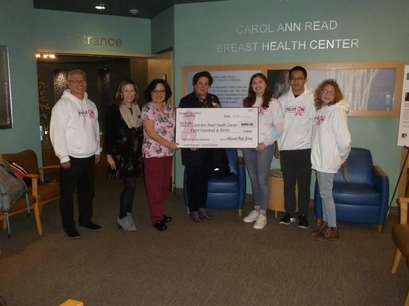 ee6a4066e8 Alameda High School Students raise  800 for Alta Bates Summit ...