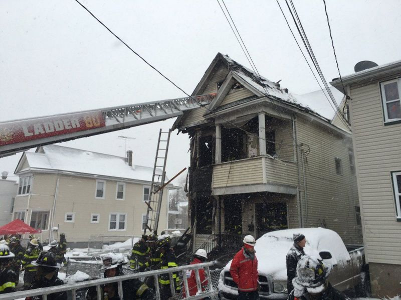 Staten Island Fire  Injured In 3 Alarm Blaze Fdny