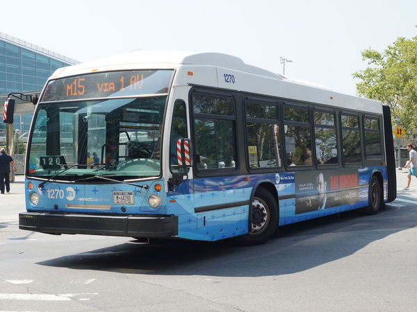 New Buses Coming To Upper East Side, Officials Say