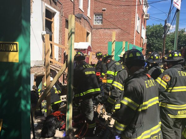 Roof Of Building Collapses On Workers At Queens Construction Site, FDNY Says