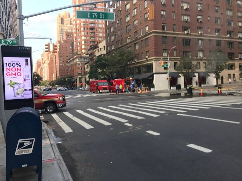 Upper East Side Manhole Fire Disrupts Morning Traffic: FDNY, Witnesses