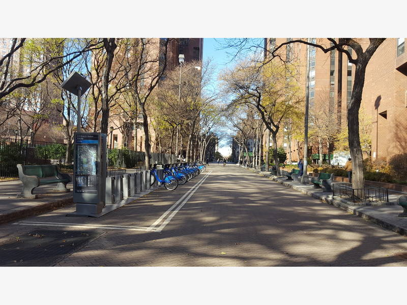 Upper East Side Street Officially Designated Public Plaza