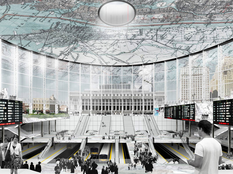 Move Madison Square Garden For Penn Station Fixes Group Proposes Midtown Manhattan Ny Patch