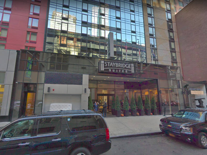 Times square hotel fire breaks out fdny says midtown - Bj s wholesale club garden city ny ...