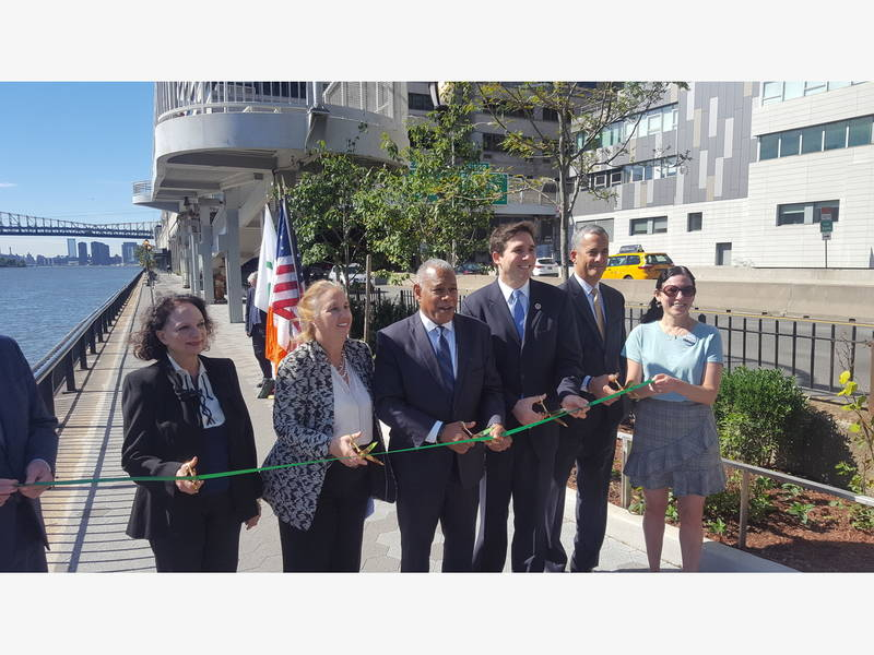 Renovated 2-Block Portion Of East River Esplanade Unveiled