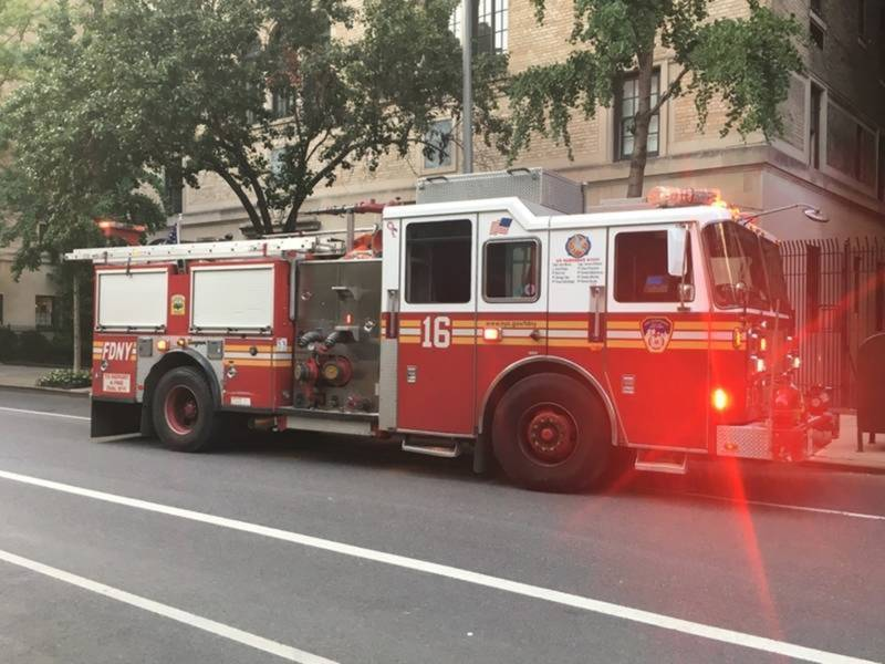 Fire Breaks Out Near Lincoln Center, FDNY Says