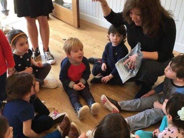 greenwich preschool gan of greenwich preschool mitzvah club installs mazuzah 599