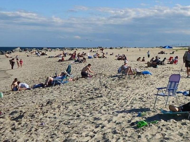 Sandy Hook Beach Re Opened