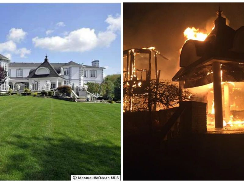 Colts Neck Fire 8 Million Mansion Gutted In Massive Fire
