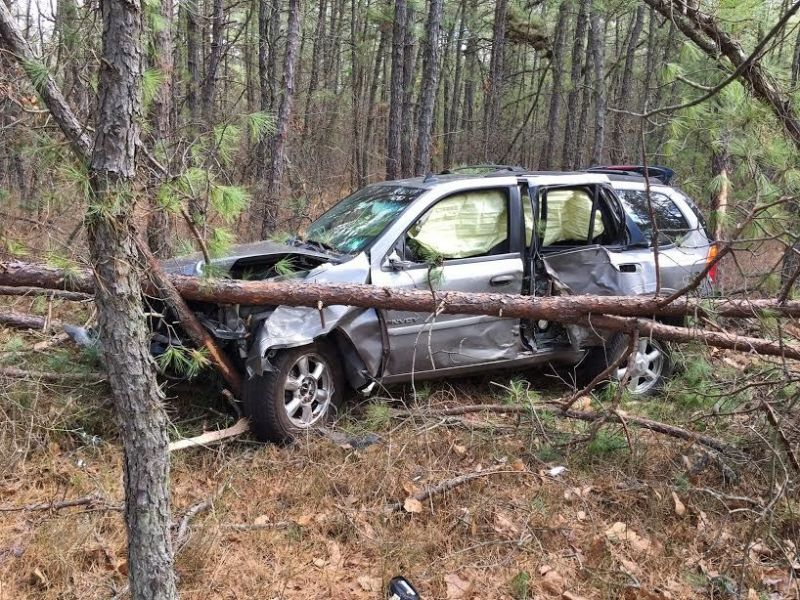 Old Bridge Couple Arrested After Stolen Car Crashes Into Woods