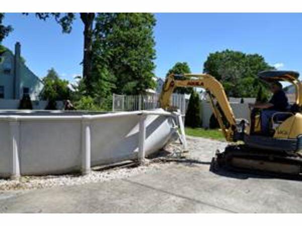 Woodbridge Demolishes Abandoned Pools To Prevent The Spread Of Zika Woodbridge Nj Patch