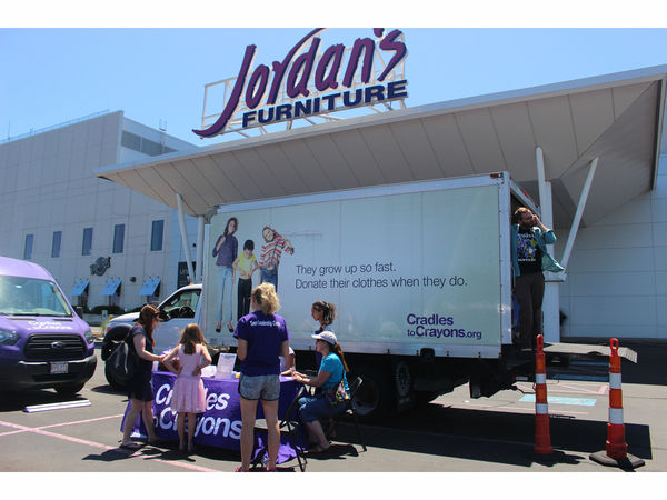 Cradles to Crayons and Jordan s Furniture help local