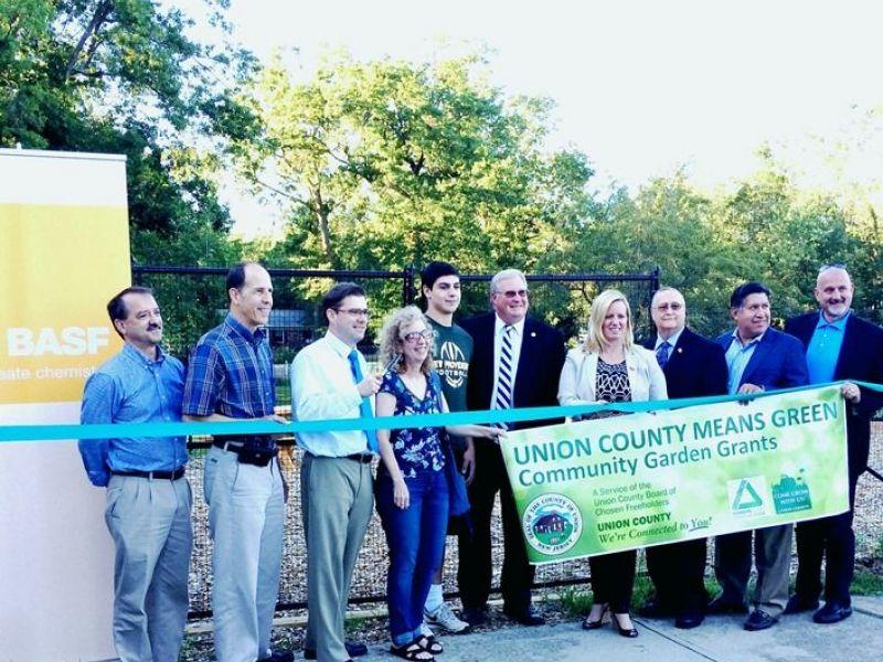 New Providence Unveils First Community Garden   New Providence, NJ Patch