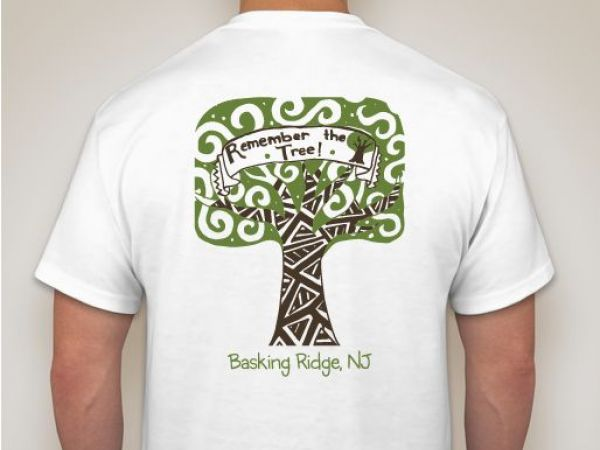 Basking Ridge Artist Designs T Shirt To Commemorate Oak