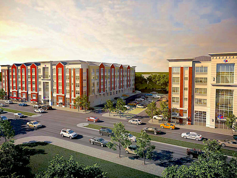 luxury apartment complex. New 212 Unit Luxury Apartment Complex Coming To Roselle Park