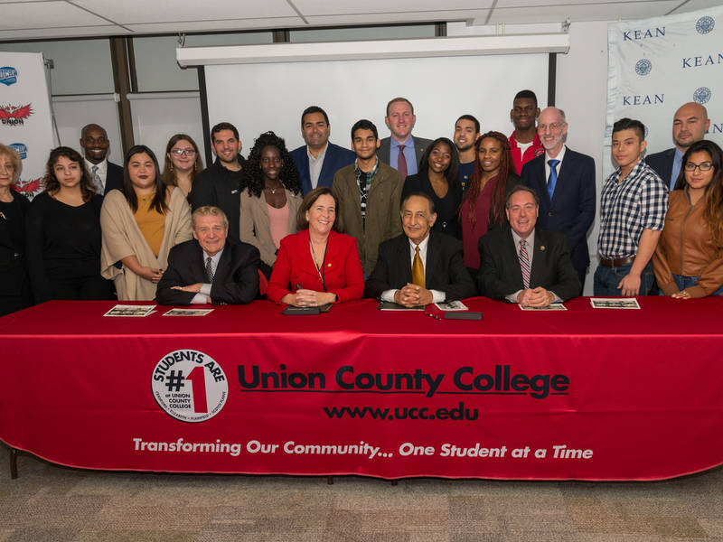 Kean University And Union County College Sign Joint Admissions