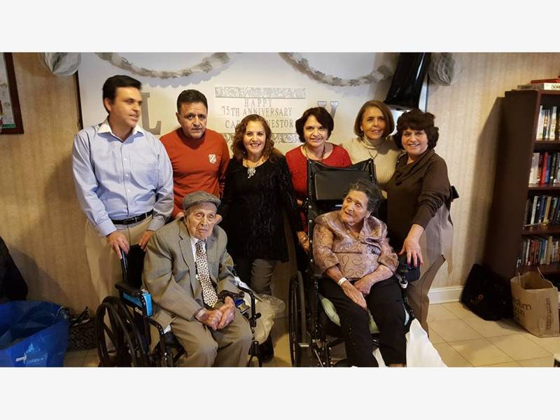Bridgewater Siblings Celebrate Pas 75th Wedding Anniversary