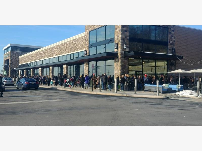 Pers Line Up At Whole Foods For Grand Opening Bridgewater Nj Patch