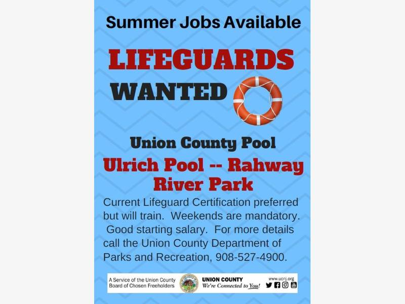 Lifeguards wanted in union county patch Union city swimming pool rec union city nj