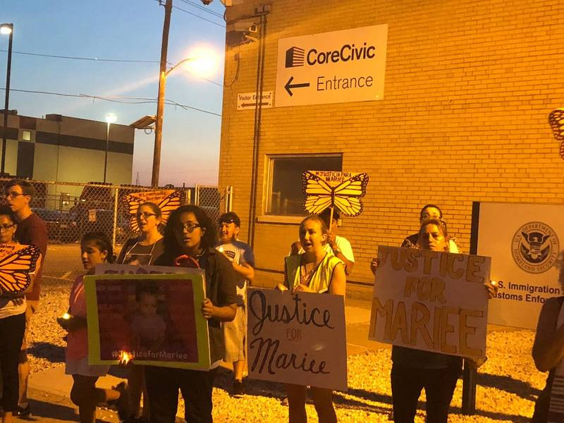 Vigil Held For 1 Year Old Who Died After Being Held By Ice