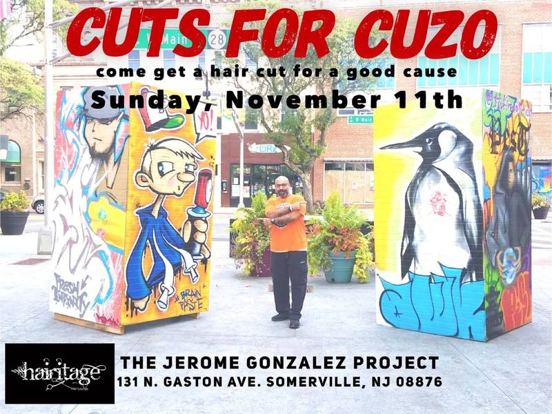 Somerville Hair Salon Hosts Cut-A-Thon For Late Cousin's Mural