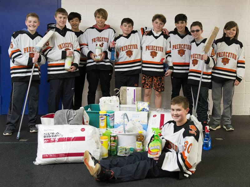 princeton youth hockey collects household goods for those in need princeton nj patch. Black Bedroom Furniture Sets. Home Design Ideas