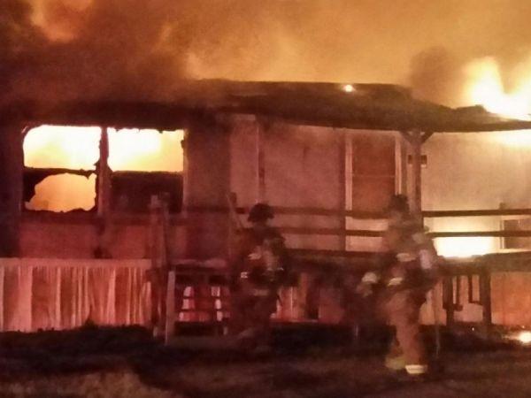 Loganville Fire Destroys Mobile Home