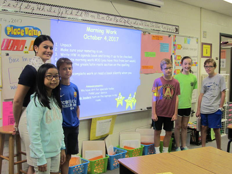 Technology In Elementary Classrooms : Simpson elementary backers raise money for technology peachtree