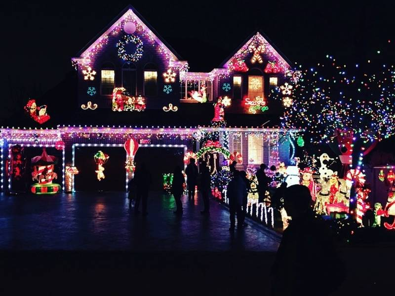 where in georgia are the best christmas lights