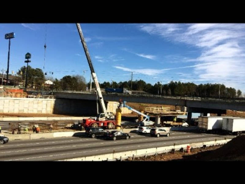 2 lanes to close new exit opening on i 285 in dekalb decatur ga patch for Home depot expo design center atlanta ga