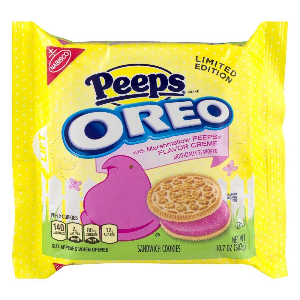 Combine A Beloved Cookie With An Amazing Marshmallow Candy And You Get Oreo Peeps Order Now Though Because These Seasonal Sweet Treats Are Only Around