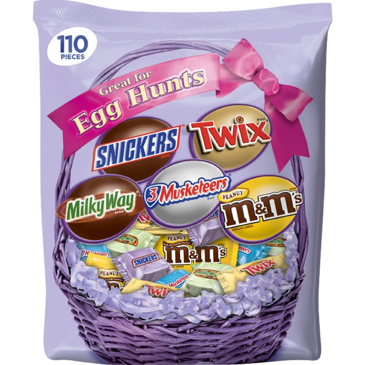 MARS Chocolate Easter Candy Spring Variety Mix 1245 Your Little Bunnies Will Be Delighted With This 110 Piece Bag Of Peanut MMs Milky Way Twix