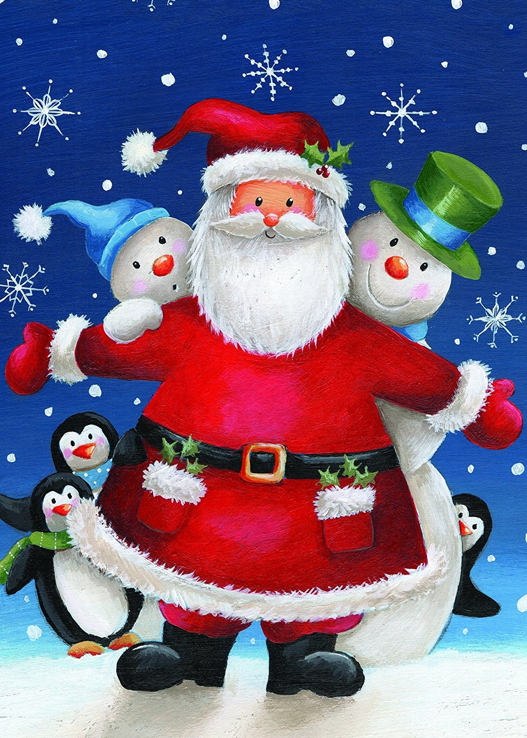 Santa Claus, Snowman And Penguin Design Greeting Cards (Set Of 30) Looking  For Something Festive And Fun? You Canu0027t Go Wrong With This Crew!