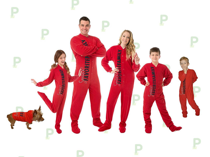 efc916561e Christmas Pajamas That ll Help You Outdo The Griswolds This Year. Matching  jammies for the whole family ...