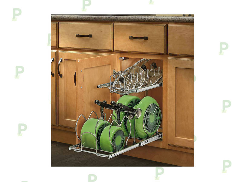 This Cookware Cabinet Organizer Is A Must Have For Every Kitchen