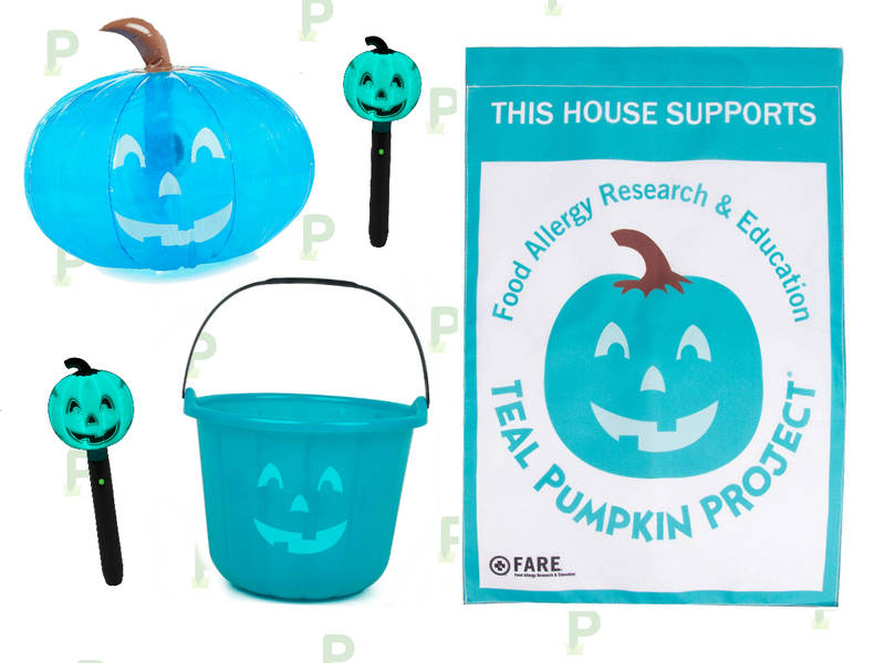 Why Teal Pumpkins Are Everywhere This Halloween Patch