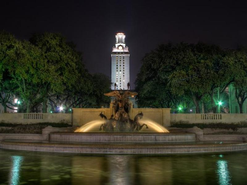 University Of Texas At Austin Fountain Ranked Among Most