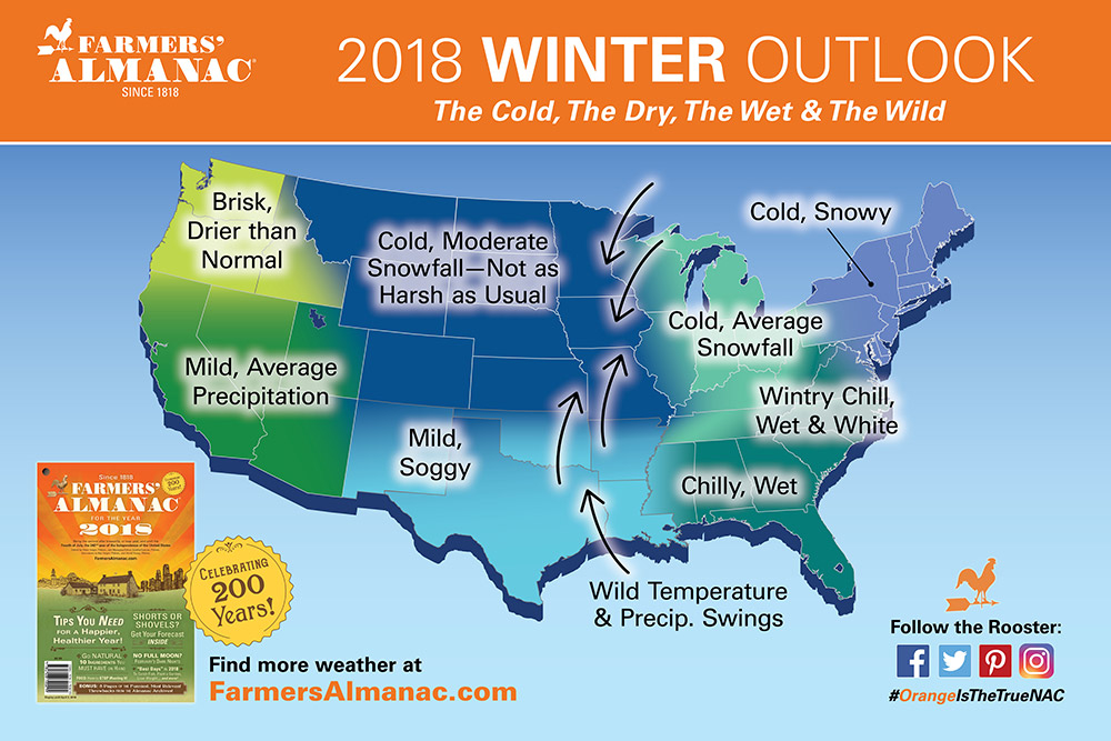 Farmers almanac releases winter 2018 forecast for texas east so pretty much what we texans have always endured mercurial unpredictable weather but it achieves a certain level of gravitas in the newly released publicscrutiny Image collections