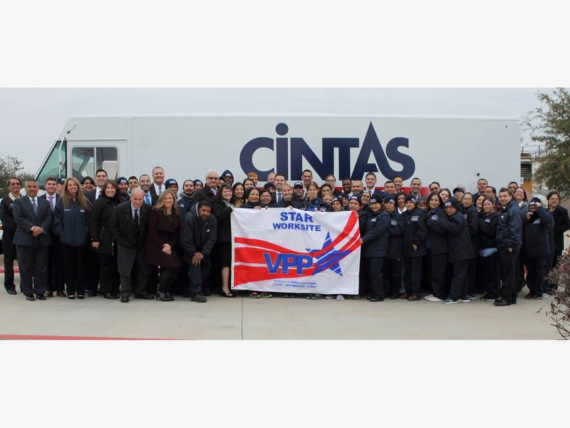 Cintas Corp Round Rock Site Earns Workplace Safety Certification