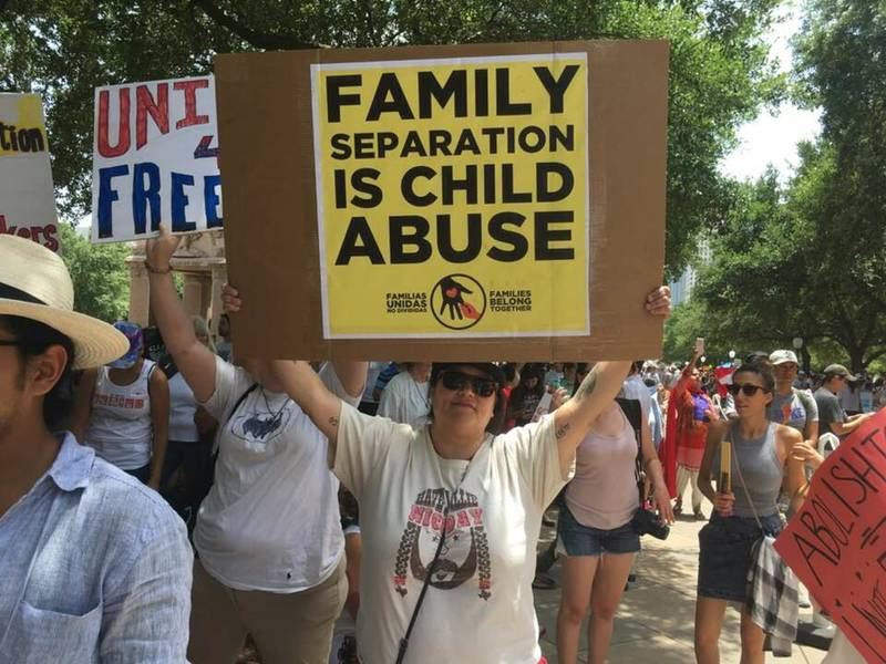 Thousands Attend 'Families Belong Together' Rally In ...