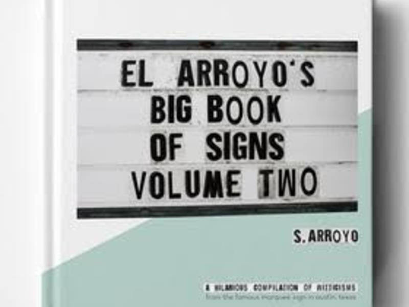 famed el arroyo austin restaurant signs collected in book form
