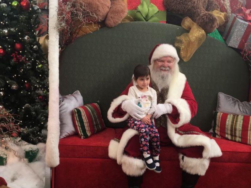 Lynnfield children meet santa ma patch