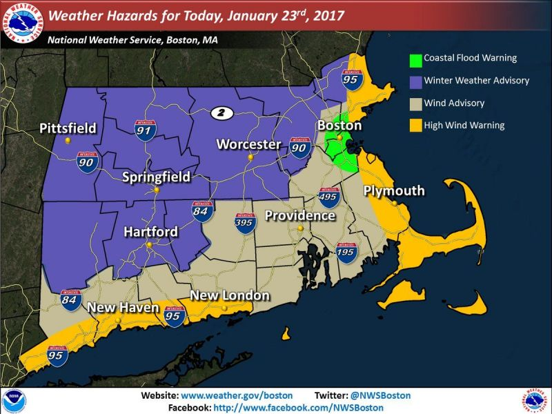 Machusetts Weather Forecast Nor Easter Bearing Down Updated