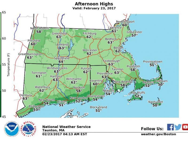 Massachusetts Weather Forecast Beautiful Weather Warning