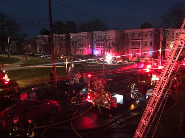 Dorchester 6-Alarm Fire Displaces At Least 17 Residents