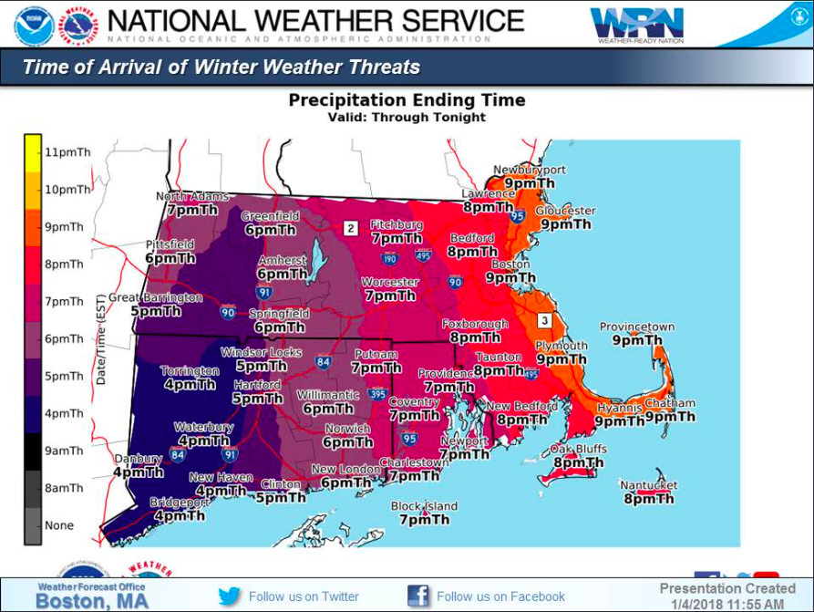 When Snow Will Stop In MA Boston MA Patch - Snowfall totals massachusetts