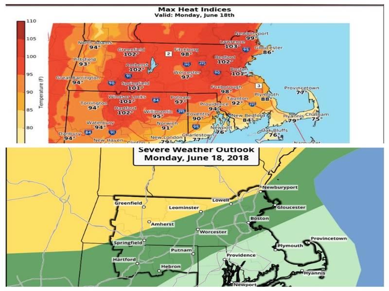 Ma Weather Forecast Heat Details Storm Timeline Revealed Boston
