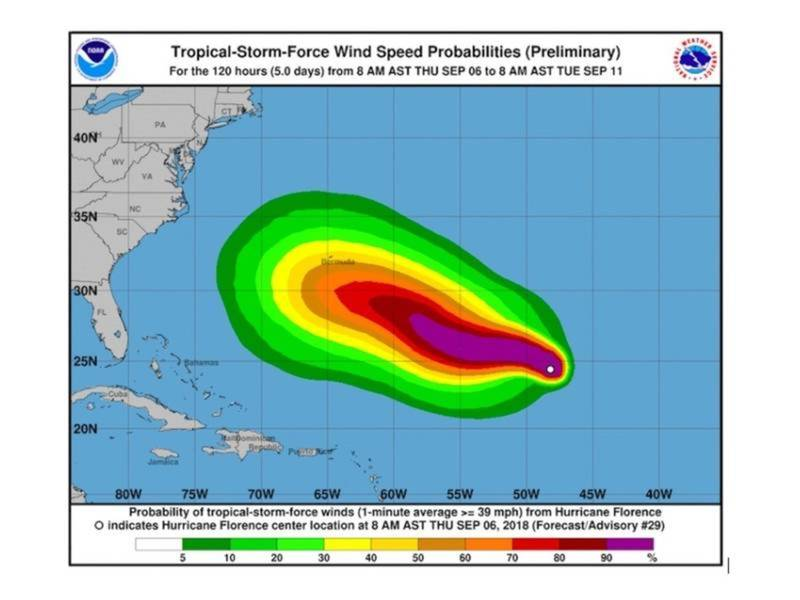 Hurricane Florence Could Slam Massachusetts Next Week Boston Ma Patch